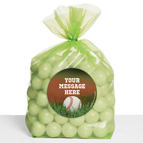 Baseball Personalized Cello Bags (Set of 30)