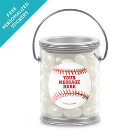Baseball Personalized Paint Cans (25 Pack)