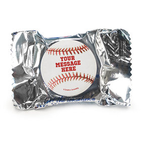 Baseball Personalized York Peppermint Patties (84 Pack)