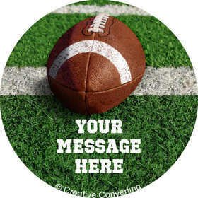"Football Personalized 2"" Stickers (20 Stickers)"