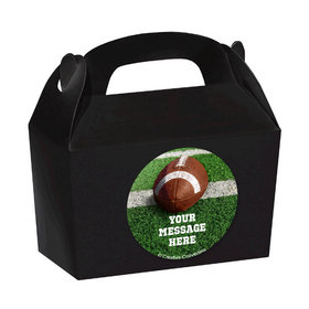 Football Personalized Favor Boxes (Set of 24)