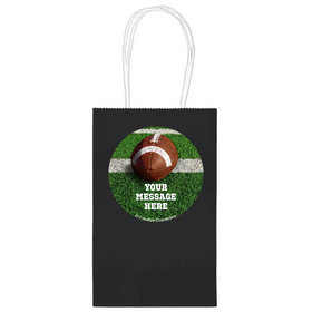 """Football Personalized 5"""" Handle Bags (24 pack)"""