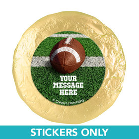 "Football Personalized 1.25"" Stickers (48 Stickers)"
