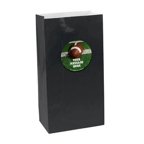 Football Personalized Paper Favor Bags (set of 12)
