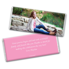 Birthday Personalized Chocolate Bar Wrappers Full Photo