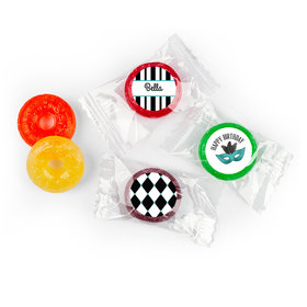 Birthday Personalized Life Savers 5 Flavor Hard Candy Harlequin Masquerade