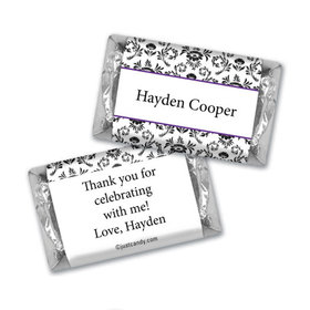 Birthday Personalized Hershey's Miniatures Wrappers Jacquard Pattern