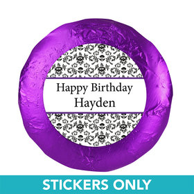 "Birthday 1.25"" Sticker Jacquard Pattern (48 Stickers)"