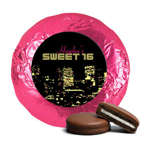 Birthday Chocolate Covered Oreos City Night in Lights Skyline (24 Pack)