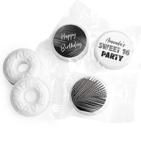 Personalized Sweet 16 Birthday Beach Party Life Savers Mints