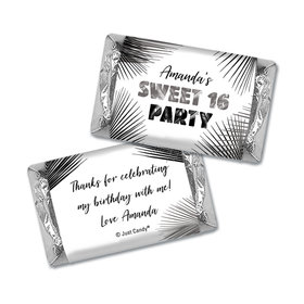 Personalized Birthday Hershey's Miniatures Sweet 16 Beach Party