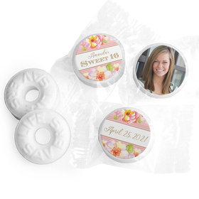 Personalized Sweet 16 Birthday Darling Dreams Life Savers Mints