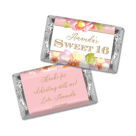 Personalized Birthday Hershey's Miniatures Wrappers Personalized Sweet 16 Darling Dreams