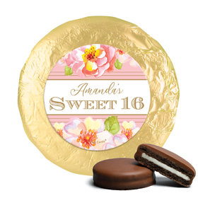Personalized Sweet 16 Birthday Darling Dreams Chocolate Covered Foil Oreos (24 Pack)s