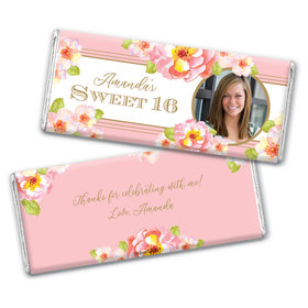 Personalized Sweet 16 Darling Dreams Chocolate Bar & Wrapper