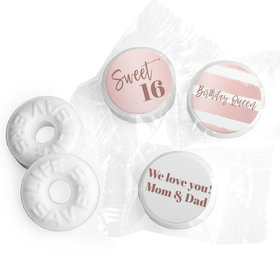 Personalized Sweet 16 Birthday Birthday Queen Life Savers Mints