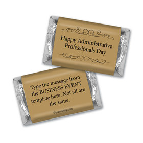 Personalized Administrative Professionals Day You Deserve It Hershey's Miniatures