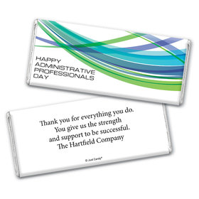 Employee Appreciation Personalized Chocolate Bar Wrappers Tech Administrative Professionals Day