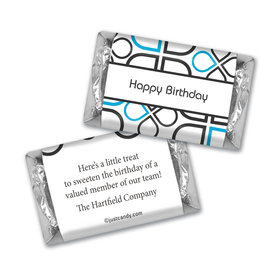 Birthday Personalized Hershey's Miniatures Infinity Clover Pattern