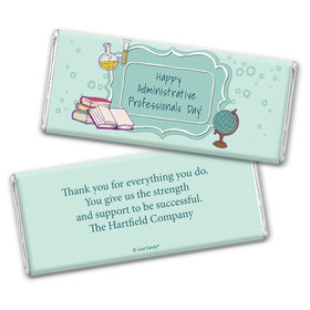 Employee Appreciation Personalized Chocolate Bar Wrappers School Administrative Professionals Day