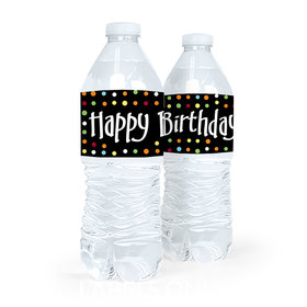 Personalized Birthday Surprise Water Bottle Sticker Labels (5 Labels)