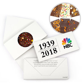 Personalized Administrative Professionals Day Span of Years Gourmet Infused Belgian Chocolate Bars (3.5oz)