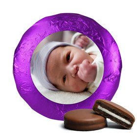 Baby Girl Announcement Chocolate Covered Oreos Full Photo