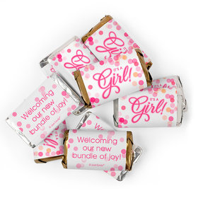 It's a Girl Baby Shower Candy Hershey's Miniatures Chocolate