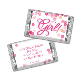 Personalized Birth Announcement Bubbles Mini Wrappers Only