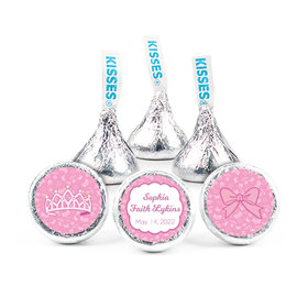 """Personalized Birth Announcement It's A Girl Bundle of Joy 3/4"""" Stickers (108 Stickers)"""