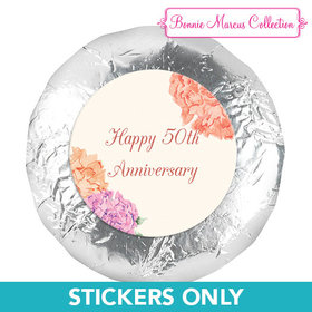 """Bonnie Marcus Collection Anniversary Blooming Joy 1.25"""" Stickers (48 Stickers)"""