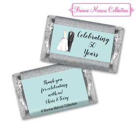 Bonnie Marcus Collection Chocolate Candy Bar and Wrapper Forever Together Anniversary Favors
