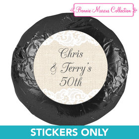 "Bonnie Marcus Collection Wedding Anniversary Party Favors 1.25"" Stickers (48 Stickers)"
