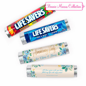 Personalized Anniversary Here's Something Blue Lifesavers Rolls (20 Rolls)