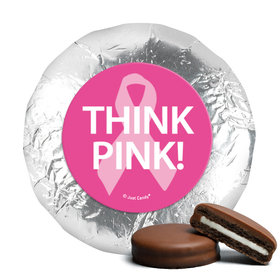 Personalized Bonnie Marcus Breast Cancer Awareness Simply Pink Chocolate Covered Oreos