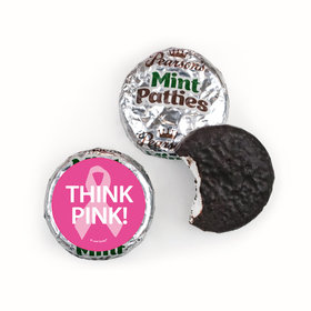Personalized Bonnie Marcus Breast Cancer Awareness Simply Pink Pearson's Mint Patties