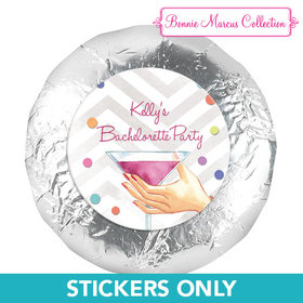 """Bonnie Marcus Collection Here's to You Bachelorette 1.25"""" Stickers (48 Stickers)"""