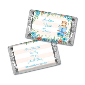 Bonnie Marcus Collection Chocolate Candy Bar and Wrapper Story Time Boy Birth Announcement