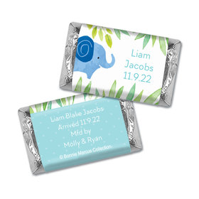 Bonnie Marcus Collection Birth Announcement Boy Baby Announcements Hershey's Miniatures