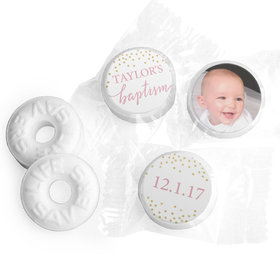 Personalized Bonnie Marcus Baptism Confetti Life Savers Mints