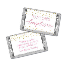 Personalized Bonnie Marcus Baptism Confetti Hershey's Miniatures