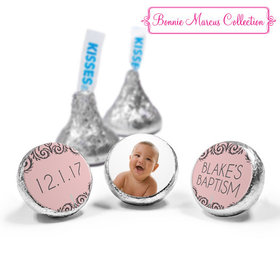 Personalized Bonnie Marcus Baptism Scroll Hershey's Kisses (50 Pack)