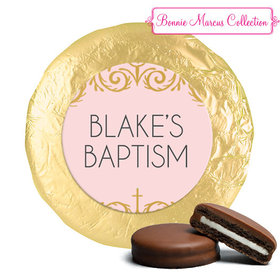 Personalized Bonnie Marcus Baptism Scroll Chocolate Covered Oreos
