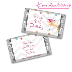Bonnie Marcus Collection Birthday Candy Bar Wrappers Here's to You