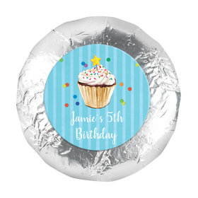 "Bonnie Marcus Collection Birthday Cupcake Dazzle 1.25"" Stickers (48 Stickers)"