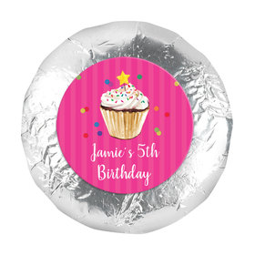 """Bonnie Marcus Collection Birthday Cupcake Dazzle 1.25"""" Stickers (48 Stickers)"""