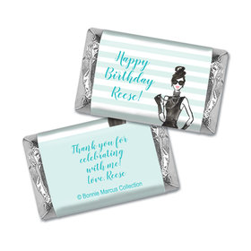Bonnie Marcus Collection Personalized Mini Candy Bar Wrapper In Vogue Birthday