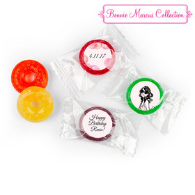 Bonnie Marcus Collection Blithe Spirit Personalized Birthday Stickers LifeSavers 5 Flavor Hard Candy