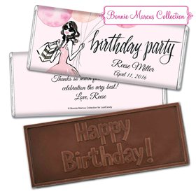 Bonnie Marcus Collection Personalized Embossed Chocolate Bar Birthday Wrappers Blithe Spirit Birthday