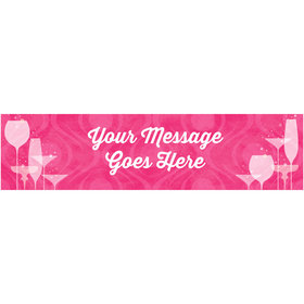 Personalized Born to Be Fabulous 5 Ft. Banner